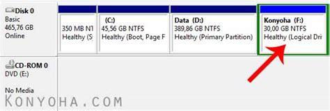 cara format hardisk seperti baru cara mudah membuat partisi baru di harddisk komputer windows