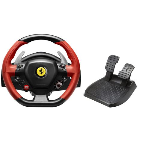 volante thrustmaster xbox one volant thrustmaster 458 spider racing wheel xbox