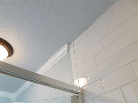 do you put crown molding in bathrooms before after bliss our monster master bathroom