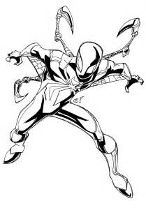 Iron Spider Coloring Pages cranboyz the iron spider