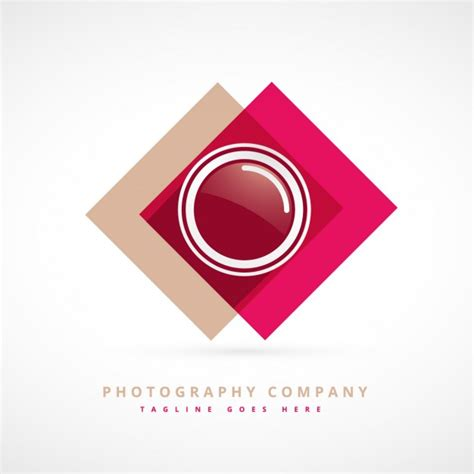 photography design logo vector free download