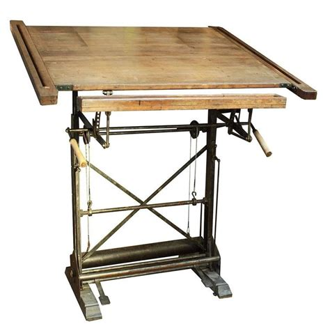 Antique French Drafting Table At 1stdibs Antique Drafting Table For Sale