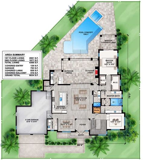 house plan com plan 86022bw contemporary house plan with upstairs and