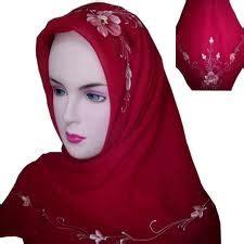 Jilbab Lukis Aqueenashop Contoh Kerudung