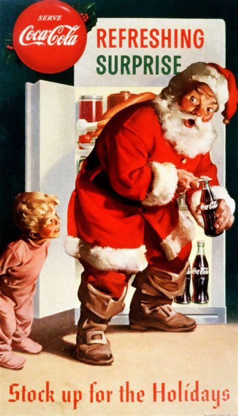 imagenes santa claus coca cola retro santa claus posters coca cola holiday and