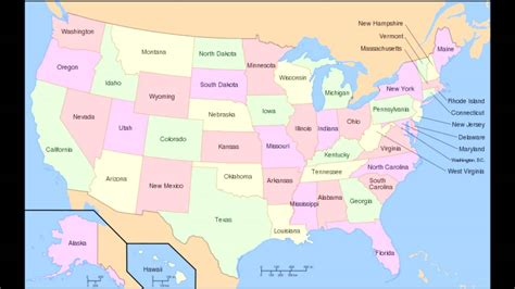 all fifty states reading all 50 states in alphabetical order seductively