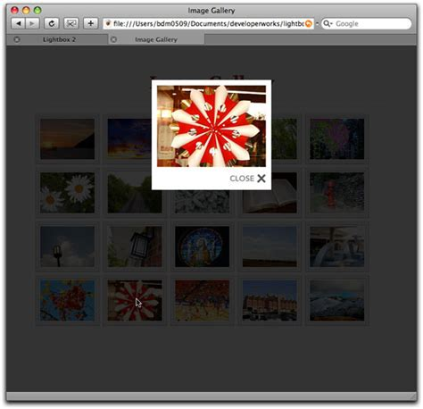 lightbox div build a stylish image gallery using lightbox 2 and javascript