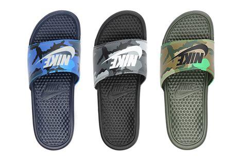 Hype Sliders In Navy nike benassi jdi slide quot camo quot pack slip on sandals hypebeast