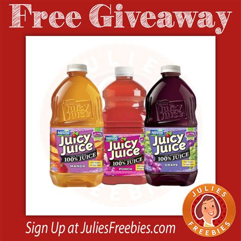 Juicy Juice Sweepstakes - juicy juice find your perfect fit sweepstakes julie s freebies