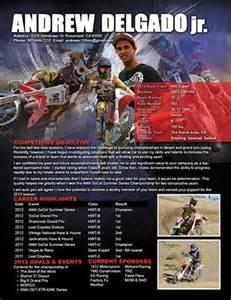Motocross Sponsorship Resume by Sponsorship Resume