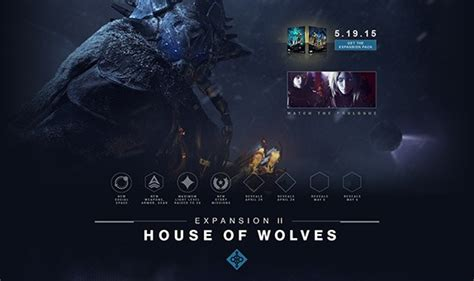 House Of Wolves Expansion by Bungie Gets Us Up On Destiny S House Of Wolves