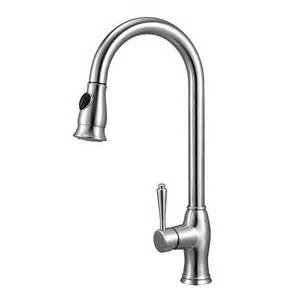 Best Kitchen Faucet Brand Alfi Brand Ab2043 Traditional Solid Stainless Steel Pull Kitchen Faucet Atg Stores