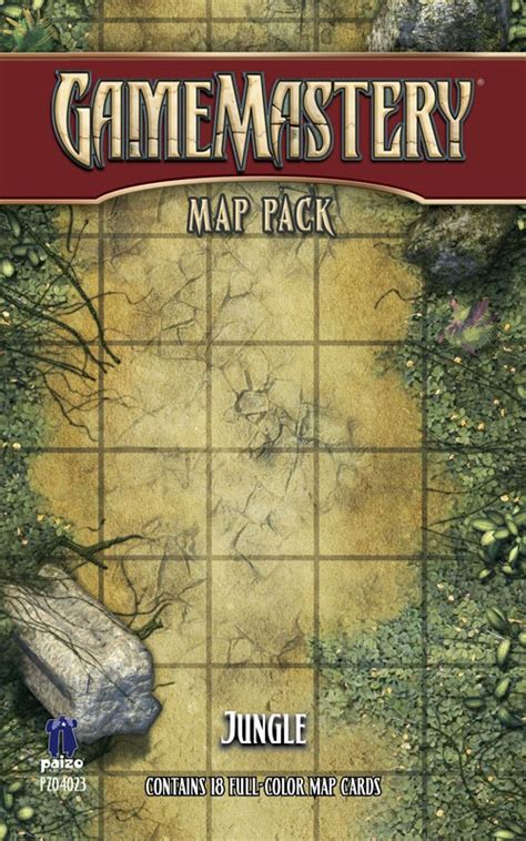 starfinder flip mat starship books paizo gamemastery map pack jungle