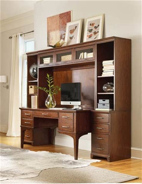 Home Office Wall Desk 6 Home Office Wall Unit Traditional Desks And Hutches By Furnitureland South
