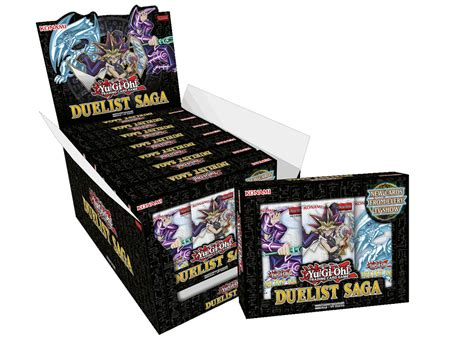 Yugioh Duelist Saga Mini Box 3 Booster Collectors Edition Original Yu Gi Oh Yugioh Duelist Saga Display Booster Box 8x