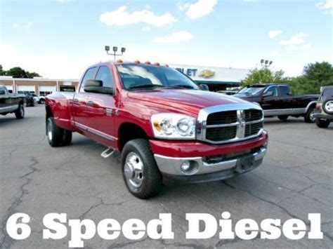 manual cars for sale 2007 dodge ram 1500 transmission control buy used 2007 dodge ram 3500 6 speed manual cummins turbo diesel 4x4 dually pickup truck in