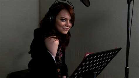 emma stone video game famous celebs who voiced video game characters steemit