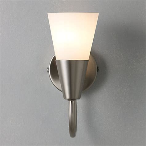 Brushed Chrome Wall Lights Buy Lewis The Basics Lulu Wall Light Brushed Chrome