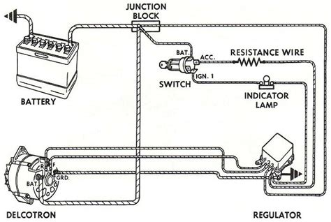 delco remy generator diagram delco free engine image for