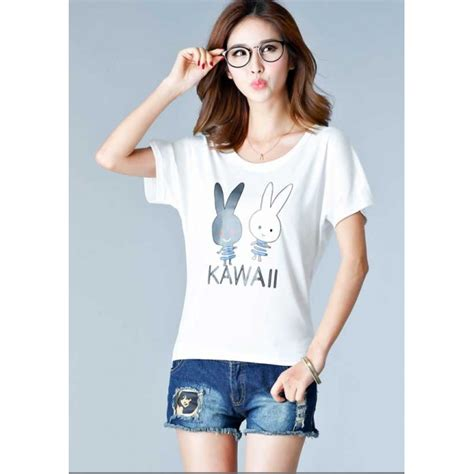 Kaos Fashion Import 47 kaos wanita import t2869 moro fashion