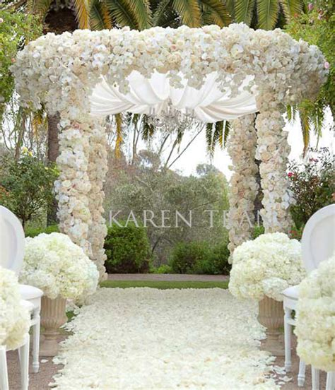 Wedding Arch Location by Luxury Glamorous Indoor Wedding Ceremony Arch Decorations