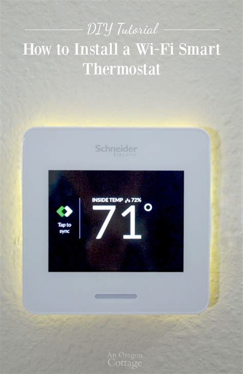 diy wireless thermostat how to install a wi fi smart thermostat wiser air review