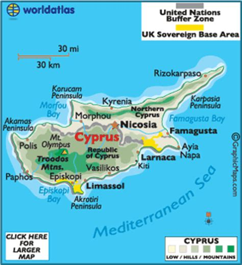 map of cypress cyprus map geography of cyprus map of cyprus