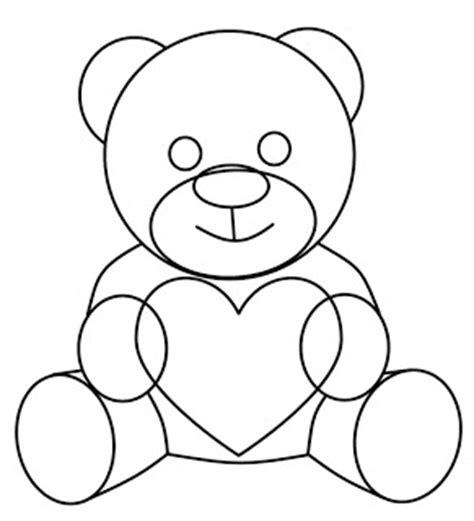 valentines teddy drawing how to draw teddy