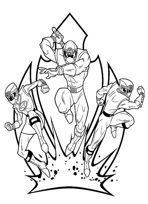 power rangers samurai coloring pages to print power rangers coloring pages 360coloringpages