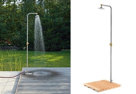 outdoor shower base hardscaping 101 outdoor showers gardenista