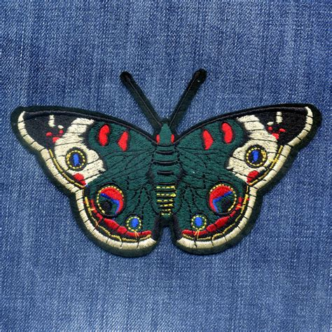 sticker for iron on patch the emperor butterfly patches embroidery patch for iron on