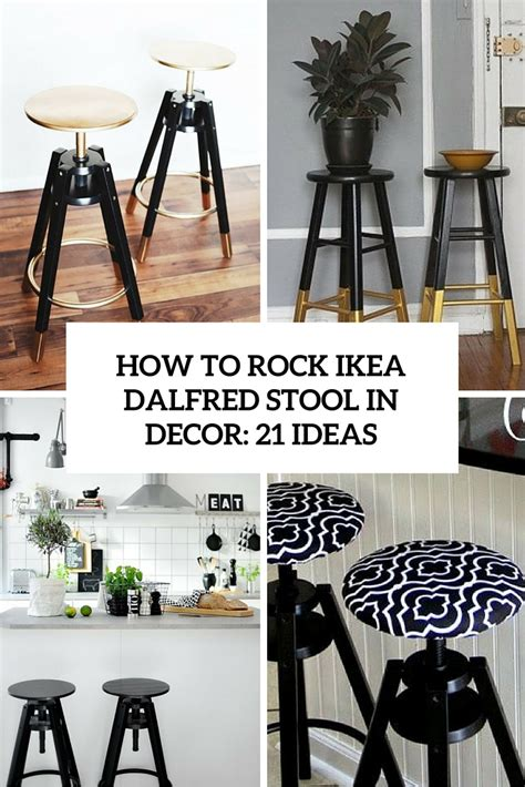 rock ikea dalfred bar stool   decor  ideas