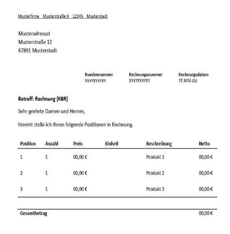 Freiberufler Rechnung Rechnungsnummer Kleinbetragsrechnung F 252 R Freiberufler Vorlage Muster