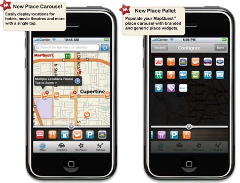 mobile mapquest mapquest unveils alternative to maps for iphone