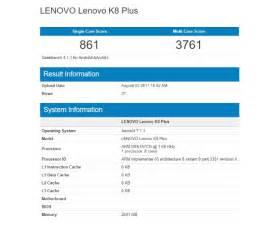 Bench Geek Lenovo K8 Note Y Lenovo K8 Plus Al Descubierto En