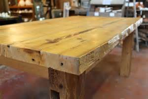handmade large harvest table by springs lumber