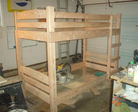 How To Make Wooden Bunk Beds Bunk Bed