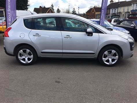 peugeot silver used silver peugeot 3008 for sale kent
