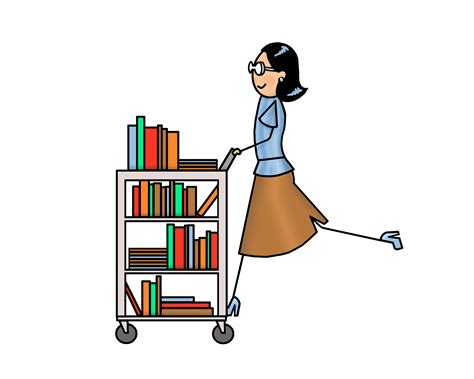 library clipart free library clipart cart pencil and in color library clipart
