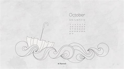 Calendar October 2017 Wallpaper October 2016 Free Calendar Desktop Wallpaper