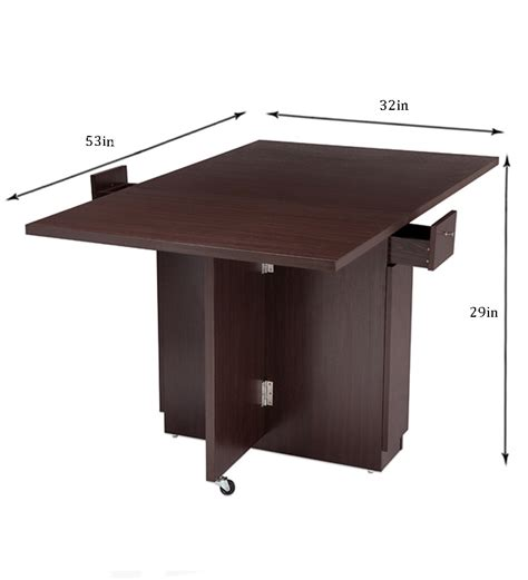 nilkamal hector folding dining table multipurpose table