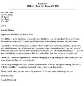 Generic Cover Letter Exles by General Cover Letter Exle Icover Org Uk