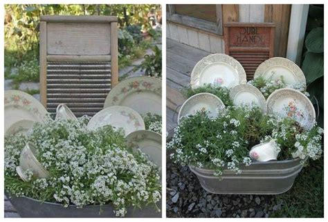 Wash Tub Planter Washtub Wonders Pinterest Wash Tub Planters
