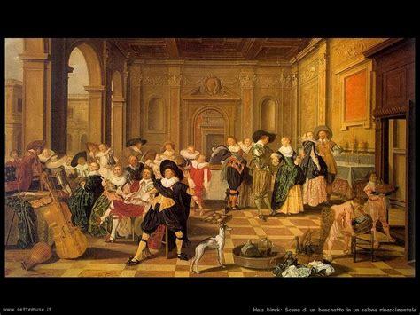 banchetti rinascimentali hals dirck pittore biografia foto opere settemuse it