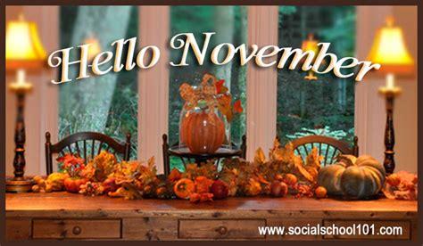 imagenes de welcome november life by katryna welcome november bye october