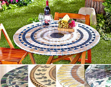 fitted mosaic tablecloth in square elastic