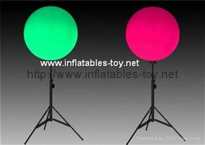 Outdoor lighted balloon with stand led stand balloon stand balloon tuo yi china