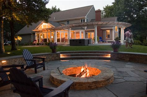 Patio Table With Fire Pit » Home Design 2017