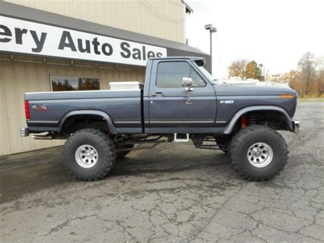 ford f 150 truck bed for sale 1985 ford f150 4x4 short bed lifted built 351w auto