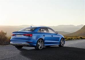Audi S3 Coupe 2017 Audi S3 Sedan Picture 684969 Car Review Top Speed